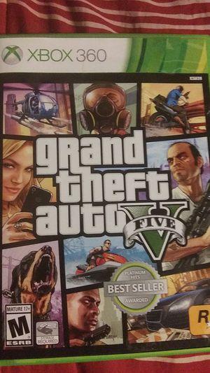 Grand theft auto 5 Xbox 360 for Sale in Bloomington, IL