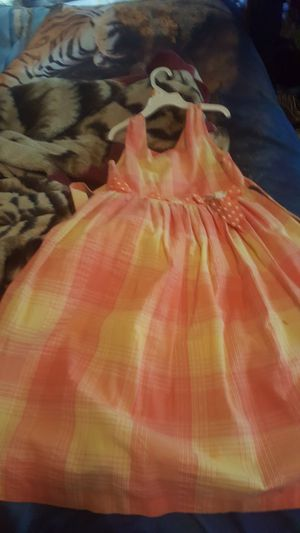 Orange and yellow dress for Sale in Baton Rouge, LA