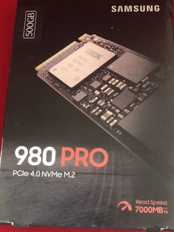 Samsung 980 Pro SSD (500 GB) for Sale in Whittier,  CA