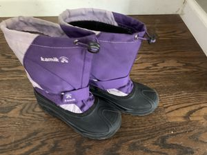 Kamik girls snow boots for Sale in Aurora, CO
