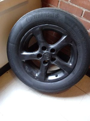 Black 16 inch maxima rims and tires with lug nuts for Sale in Hartford, CT