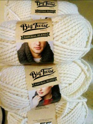 Big Twist Yarns Natural Blend -10 for Sale in Lansing, MI