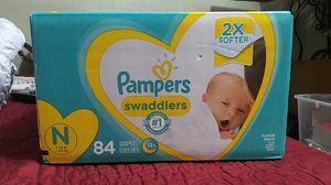 (244) total Newborn Pampers for Sale in Los Angeles, CA