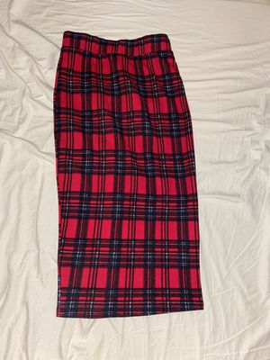 Red plaid pencil skirt for Sale in Yuba City, CA