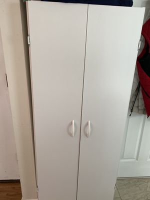 Cabinet 5'x2' with 4 shelves inside for Sale in Edison, NJ