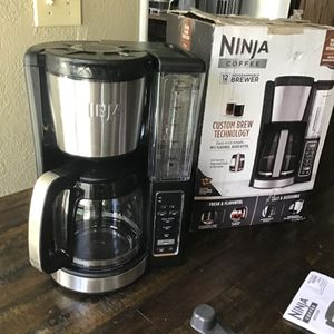 Ninja 12 cup custom brewer technology Programmable coffee maker open box new never been used excellent condition for Sale in Las Vegas, NV