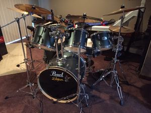 Pearl 6pc drum set for Sale in Berlin, CT