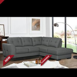 CALI DARK GREY SECTIONAL SOFA! NO CREDIT NEEDED FINANCING! GET IT DELIVERED TODAY! for Sale in Brandon, FL