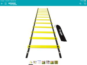 Ultimate agility ladder (12 rungs) - new for Sale in Menifee, CA