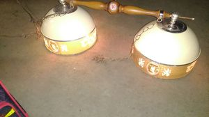 Vintage Coors Light dual lamp shade pool/poker table light for Sale in Tucson, AZ