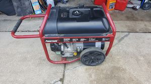 Coleman 5500w generator for Sale in Melrose Park, IL