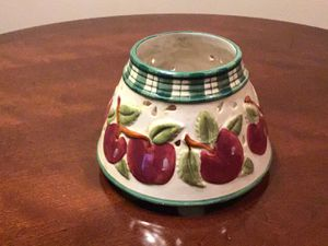 Apple Candle Holder for Sale in Port Richey, FL