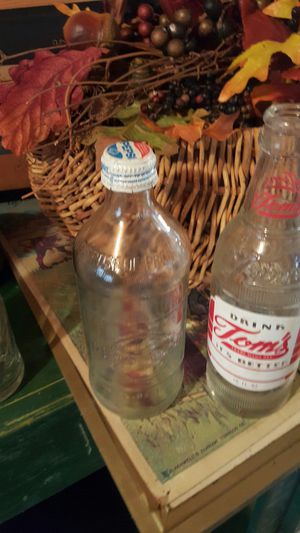Very old antique glass bottles for Sale in Greer, SC