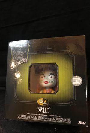 Funko 5 Star Nightmare before Christmas Sally Correctible Figure. Multicolor for Sale in Santa Ana, CA