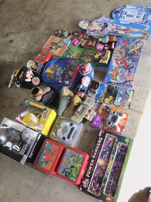 Vintage toy lot for Sale in La Puente, CA