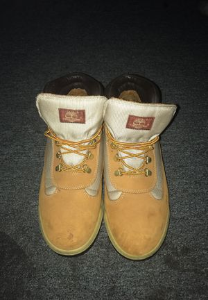 Tan Timberland boots for Sale in Baltimore, MD