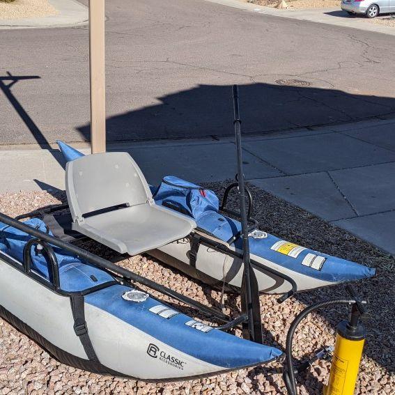 Pontoon Boat Fishing Inflatable