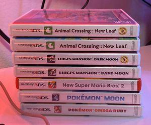 3DS Games for Sale in Auburn, WA
