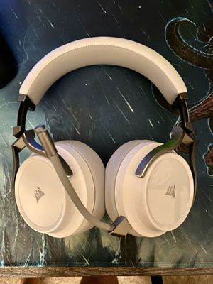 Corsair Virtuoso RGB Headset White for Sale in Charlottesville, VA