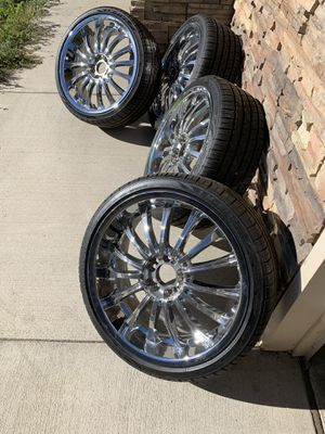 "20"" tires and rims for Sale in Brighton, CO"