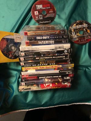 PS2 and PS3 games for Sale in Raleigh, NC