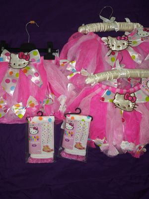 Hello Kitty Tutu and Tights for Sale in Bell Gardens, CA