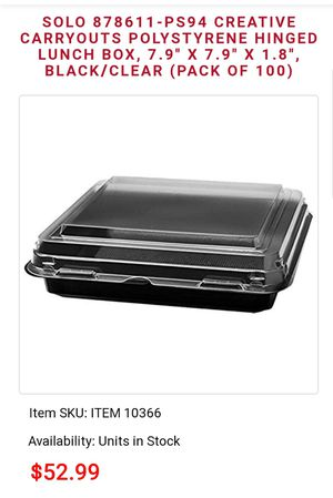 Solo food containers for Sale in Buffalo, NY
