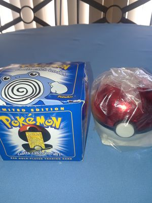 POKEMON 23K GOLD-PLATED TRADING CARD/PORCH PICK-UP/CASH ONLY/NO HOLDS/ZIP 44109/PRICE FIRM for Sale in Cleveland, OH