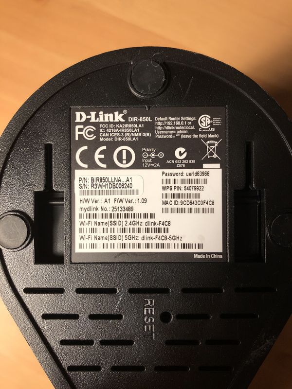 D-Link Dual Band Wireless Router DIR-850L