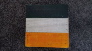 Irish Flag - acrylic on wood for Sale in Palmer, MA