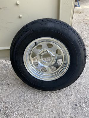 New205-75-14inch trailer tire and rim. $90/each for Sale in Fort Lauderdale, FL