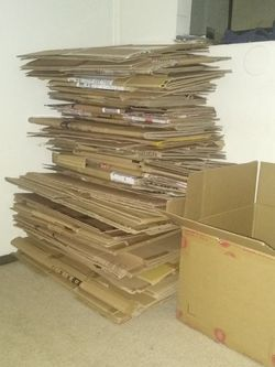 Small And Medium Moving Boxes 50 Cents Each 10.00 Minimum Purchase for Sale in Philadelphia,  PA