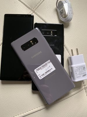 Samsung galaxy note 8 unlocked , sold with store warranty and receipt for Sale in Somerville, MA