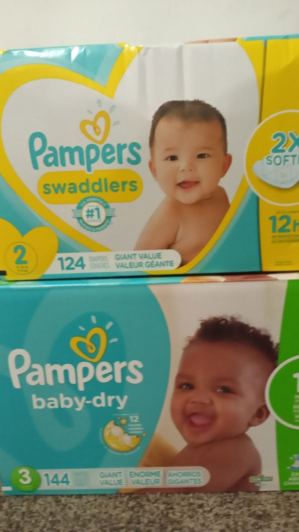 Diapers Pampers