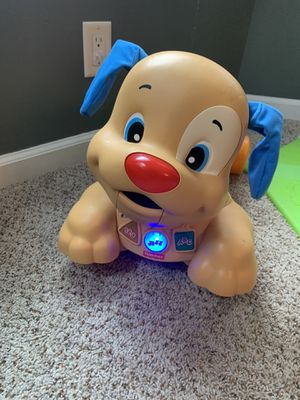 Fisher Price Laugh & Learn -Stride to Ride Puppy Riding Activity Toy for Sale in Blasdell, NY