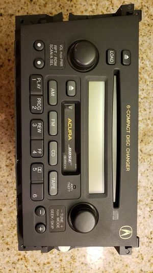 2003 Acura TL Type-s original car BOSE stereo, 6-Compact Disc Changer for Sale in Los Angeles, CA