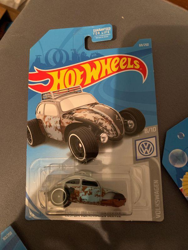 Hot wheels custom VW beetle ERROR MISSING FRONT WHEELS!