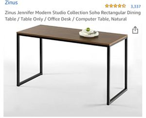 """New Zinus soho table 55"""" for Sale in Las Vegas, NV"""