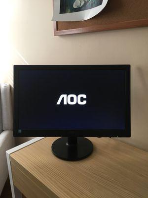 AOC LED Monitor for Sale in Alexandria, VA