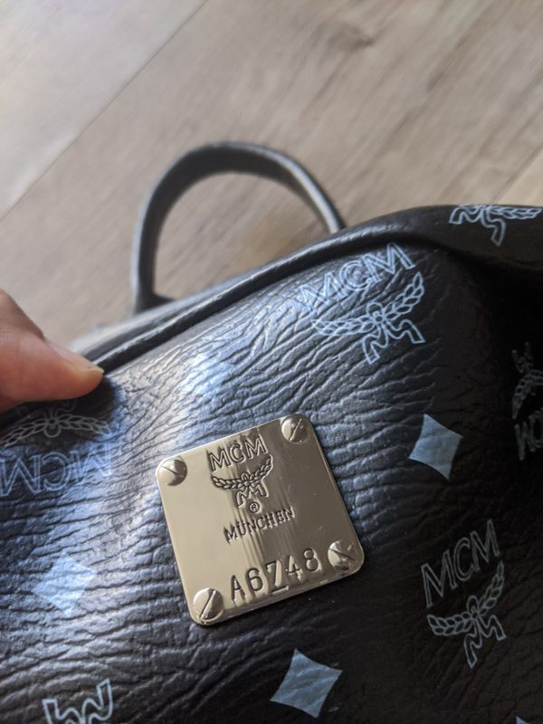 MCM Side Stud Backpack