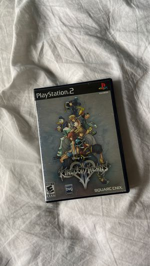 Kingdom hearts 2 ps2 used game for Sale in Miami, FL