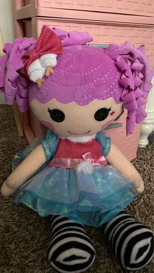Purple Lalaloopsy Plushie for Sale in Phoenix, AZ