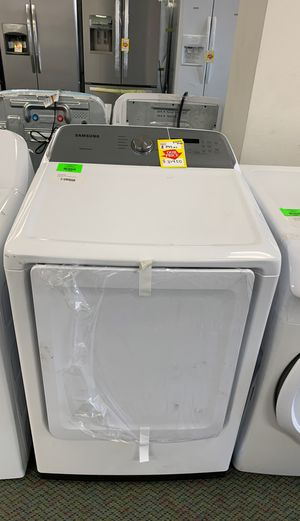 BRAND NEW Samsung DVE50R5200W electric dryer for Sale in Torrance, CA