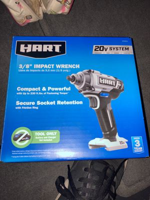 Hart impact wrench 3/8 for Sale in Edmond, OK