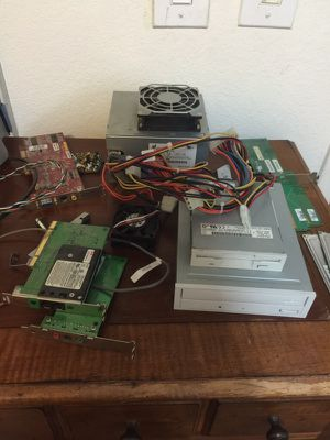 Computer parts CD-R a disk fan and more gateway performance 1400 for Sale in North Las Vegas, NV