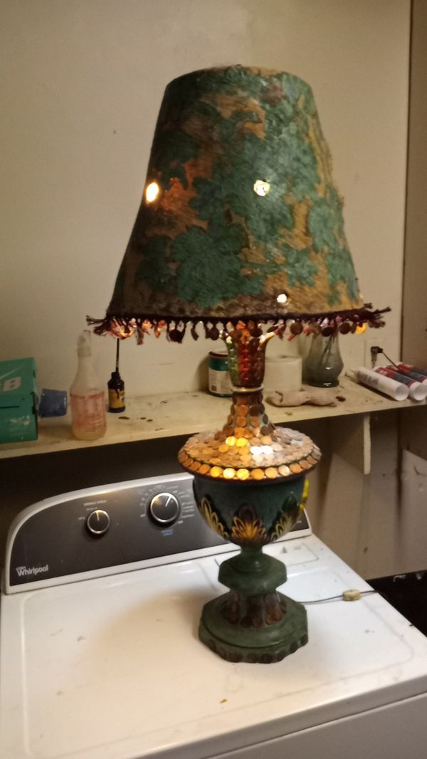 Lucky penny lamp