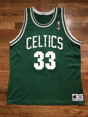 Larry Bird Vintage Champion NBA Jersey 48 XL Boston Celtics for Sale in Woodbridge Township, NJ