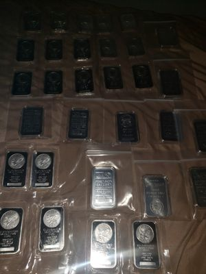 1 ounce silver bars for Sale in Tampa, FL