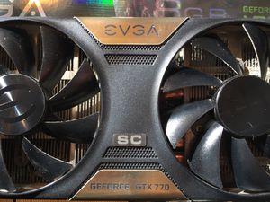 EVGA GEFORCE GTX 770 video card for Sale in Vienna, VA