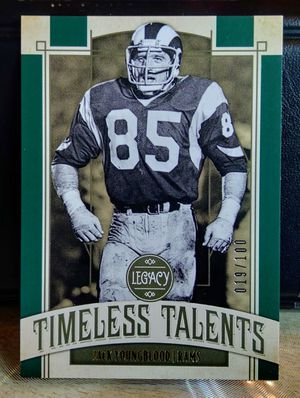 Jack Youngblood - '19 Panini Legacy - Timeless Talents #19/100 for Sale in Monroe, LA